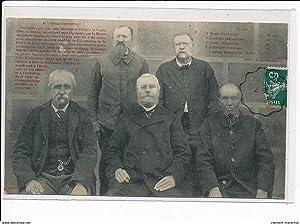 """Carte postale ancienne SILLE LE GUILLAUME - """"Aux Collectionneurs"""" Inventeur de la Carte ..."""