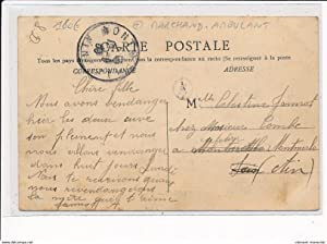 Carte postale ancienne CHIROUBLES : Grande Rue - MARCHAND AMBULANT