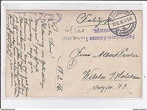 Carte postale ancienne MACHAULT : carte photo vers 1917