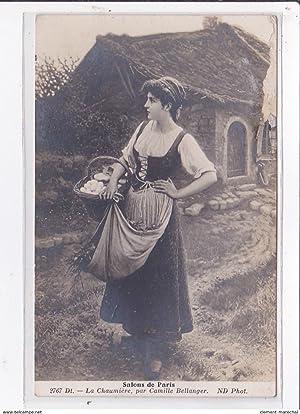 Carte postale ancienne Salon de paris :
