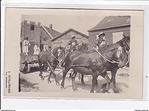 Carte postale ancienne BOHAIN : carte photo d'une fête dans les années 1910-1920 (photo ...