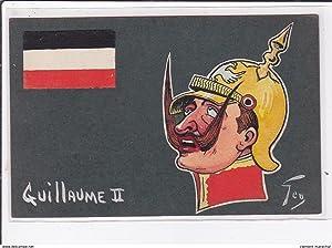 Carte postale ancienne ILLUSTRATEUR POLITIQUE : GUILLAUME II illustré par GEO vers 1900