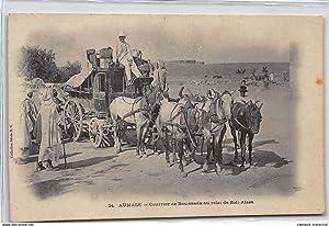 Carte postale ancienne ALGERIE : aumale, courrier