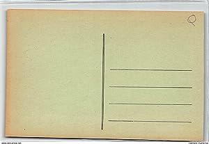 Carte postale ancienne GABON : port-gentil, le premier avion venu a port-gentil