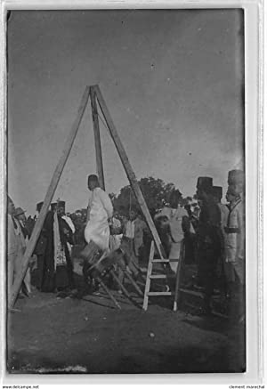 Carte postale ancienne SYRIE : damascus hanging of druze rebel
