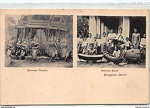 Carte postale ancienne THAILANDE : bangkok siamese