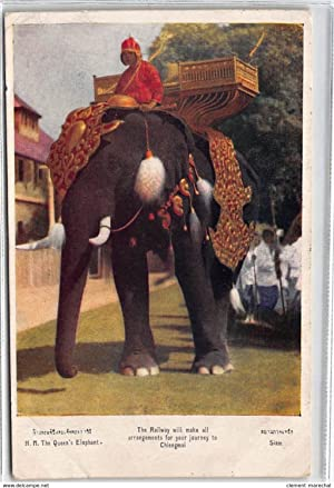 Carte postale ancienne THAILANDE : the railway will make all arrangements for your journey to ...