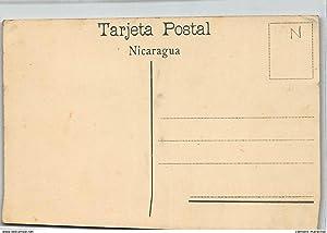 Carte postale ancienne NICARAGUA : calle de celaya leon, recuerdo de nicaragua