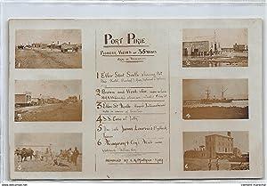 Carte postale ancienne AUSTRALIE : port pirie