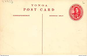 Carte postale ancienne TONGA : neiafu vavau