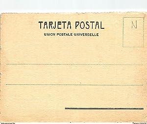 """Carte postale ancienne ARGENTINE : escia """"el socorro"""" en sulky revisando la estancia"""
