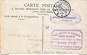 Carte postale ancienne PAYS-BAS : boutique de cartes postales, personnages