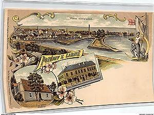 Carte postale ancienne TCHEQUIE : pozdrav z libne