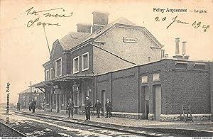 Carte postale ancienne BELGIQUE : feluy arquennes,
