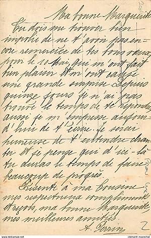 Carte postale ancienne BELGIQUE : virton pendionnat de l'immaculée conception cours superieur ...