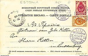 Carte postale ancienne ESTONIE : kujutused eestirahwa elust