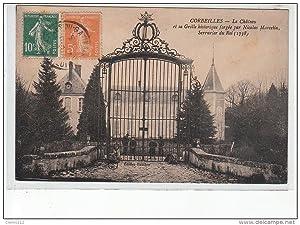 Carte postale ancienne CORBEILLES - Le Château