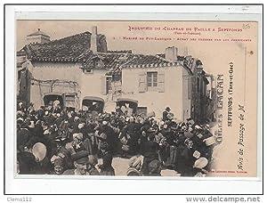 Carte postale ancienne Industrie du Chapeau de Paille à SEPTFONDS - Marché de PUY-LAROQUE - achat ...