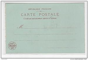 Carte postale ancienne (issue d un carnet pour l Exposition universelle Paris 1900