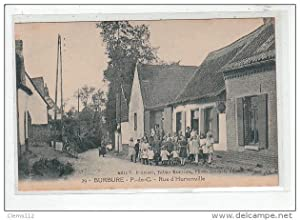 Carte postale ancienne BURBURE : rue d'hurionville