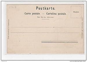 Carte postale ancienne PUBLICITE pour les bonbons suisses DEGALLIER - DESHUSSES à Versoix (Suisse -...