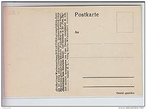 Carte postale ancienne DIE AKTION - Egon SCHIELE : F.A. HARTA : der Maler Egon Schiele vers 1910