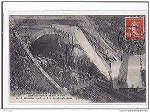 Carte postale ancienne POUCH : catastrophe du tunnel du pouch