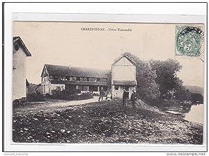 Carte postale ancienne CHARENTENAY : usine taissandié