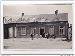 Carte postale ancienne FREVENT : epicerie, carte photo