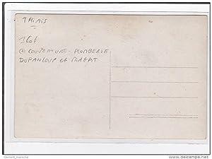 Carte postale ancienne THIAIS : converture plomberie dupanloup et miagat
