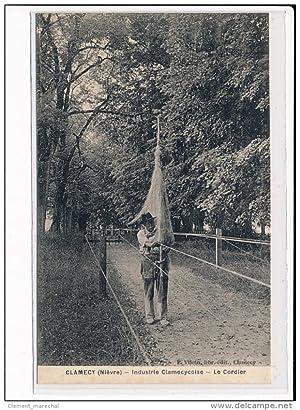 Carte postale ancienne CLAMECY : Industrie Clamecycoise - Le Cordier