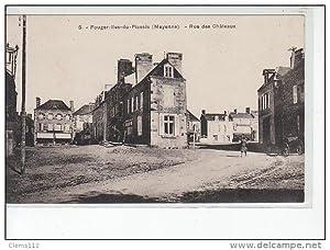 Carte postale ancienne FOUGEROLLES DU PLESSIS -