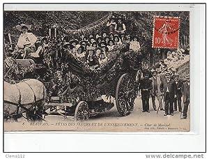 Carte postale ancienne BEAUVAIS - Fête des Fleurs et de l'Enseignement