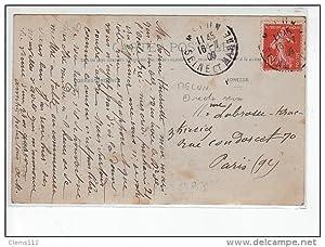 Carte postale ancienne MELUN - CARTE PHOTO