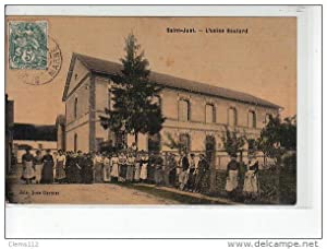 Carte postale ancienne SAINT JUST - L'usine Boulard