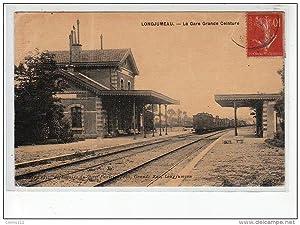 Carte postale ancienne LONGJUMEAU - La Gare