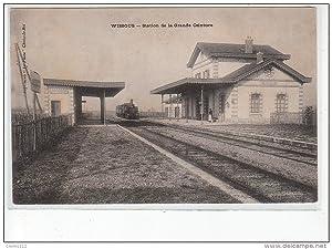 Carte postale ancienne WISSOUS - Station de