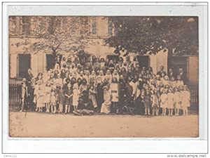 "Carte postale ancienne MULHOUSE : carte photo de la troupejouant l'opéra ""Aloysia"""