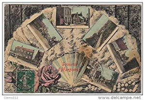 Carte postale ancienne HARGICOURT : multivue