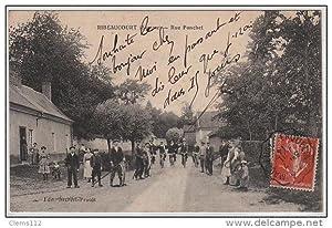 Carte postale ancienne RIBEAUCOURT : la rue Ponchet