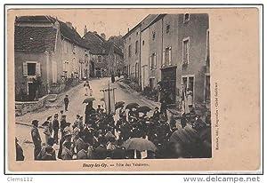 Carte postale ancienne BUCEY-LES-GY : fête des vétérans