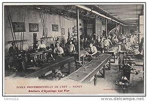 Carte postale ancienne NANCY : école professionelle