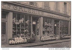 Carte postale ancienne CHATEAUDUN : les Galeries Modernes vers 1910