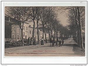 Carte postale ancienne SAINT CLEMENT - Rue de la gare