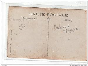 Carte postale ancienne PANNECE : carte photo de la boulangerie Terrien