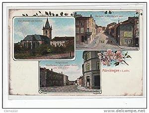 Carte postale ancienne MORHANGE - MÖRCHINGEN