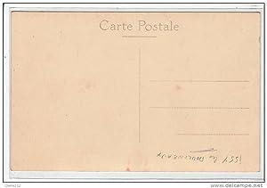 Carte postale ancienne ISSY LES MOULINEAUX : carte photo de la gare (Tour Eiffel)