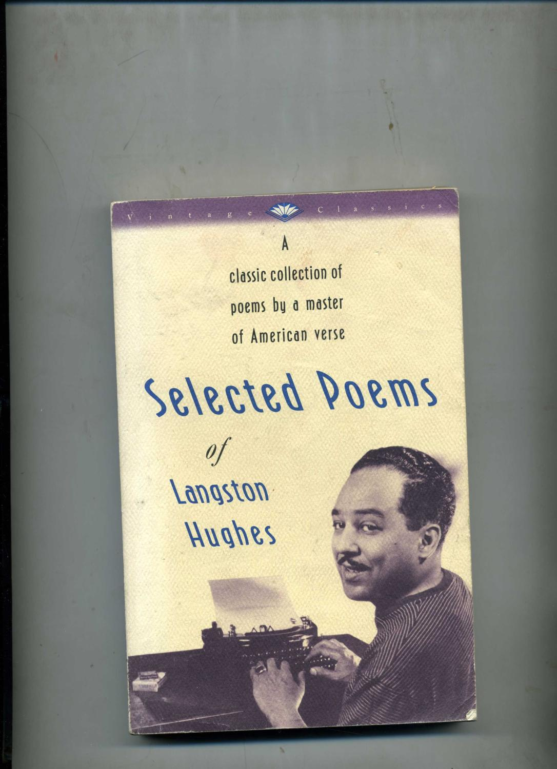 SELECTED POEMS.: HUGHES (Langston) ...