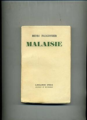 MALAISIE.: FAUCONNIER (Henri)
