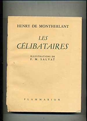 LES CÉLIBATAIRES . Illustrations de F. M. SALVAT